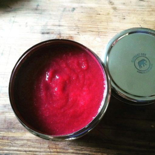 Boîte en inox pour la conservation des aliments liquides