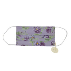 Masque en coton pour adultes VioletFlower